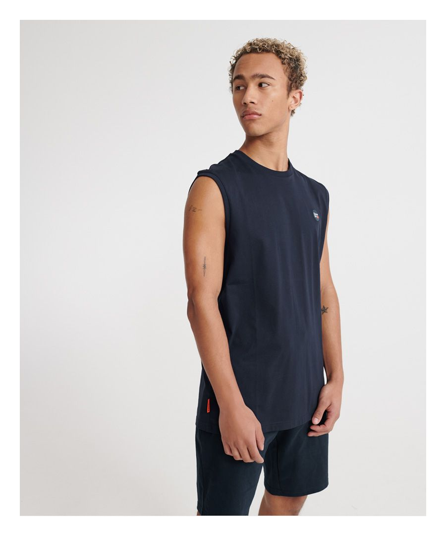Image for Superdry Organic Cotton Collective Vest Top