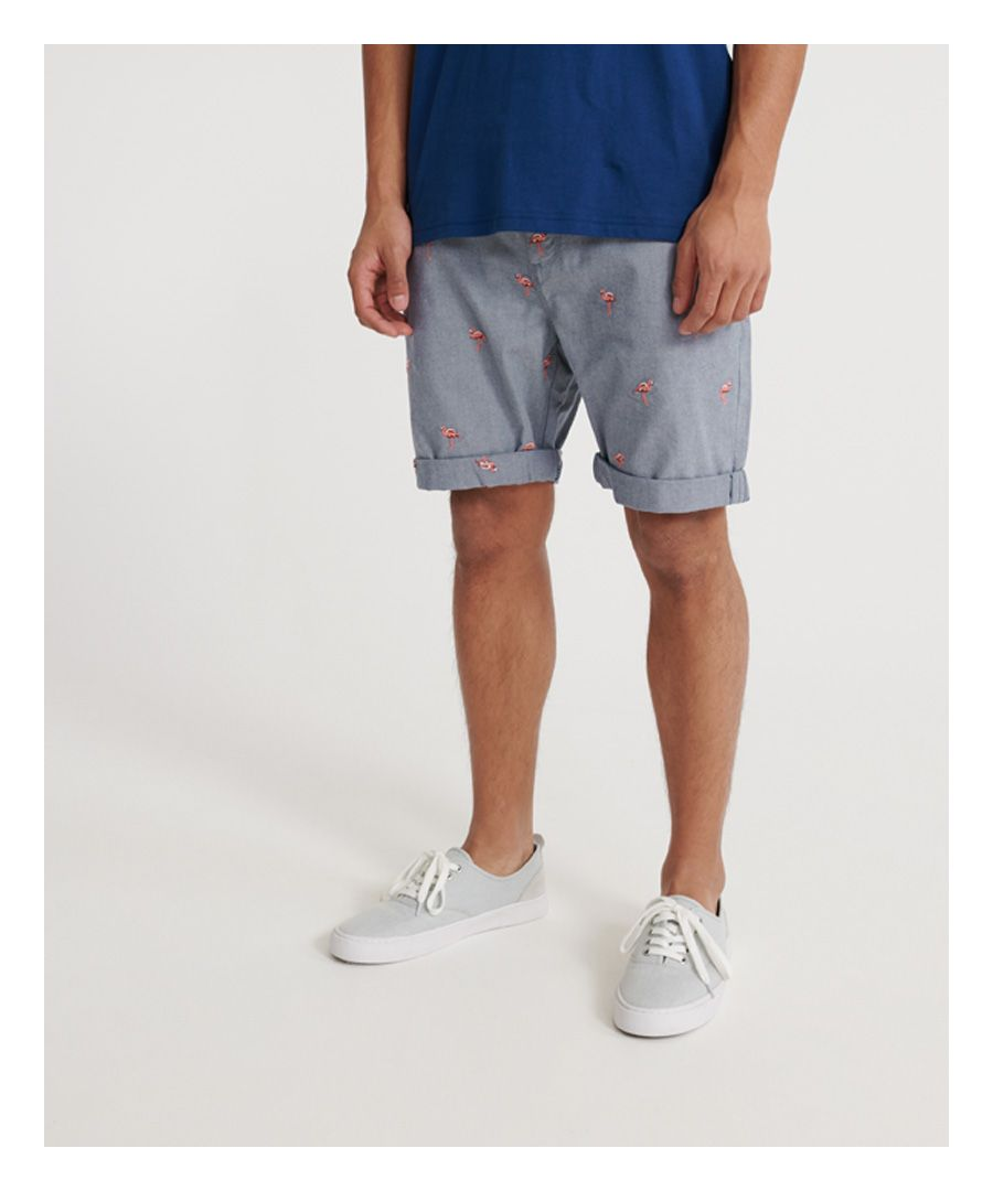 Image for Superdry International Embroidered Chino Short