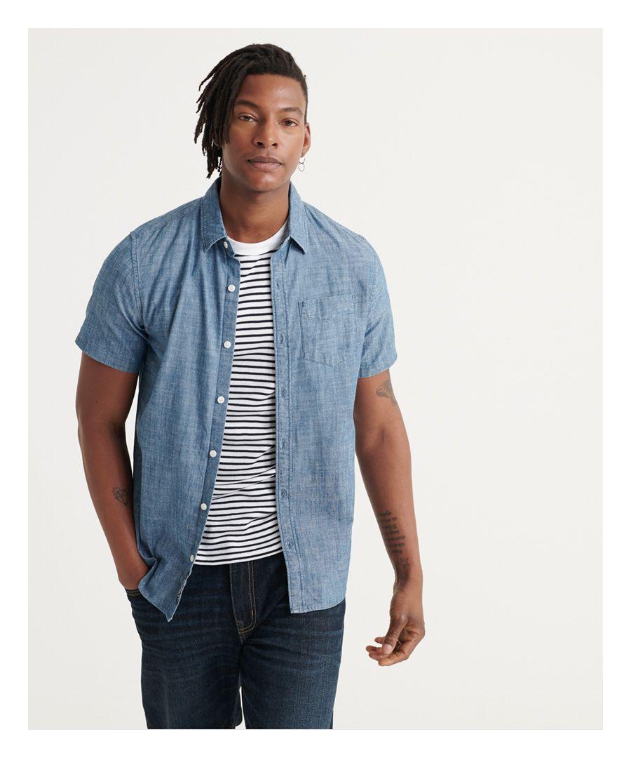 Image for Superdry Loom Short Sleeve Shirt