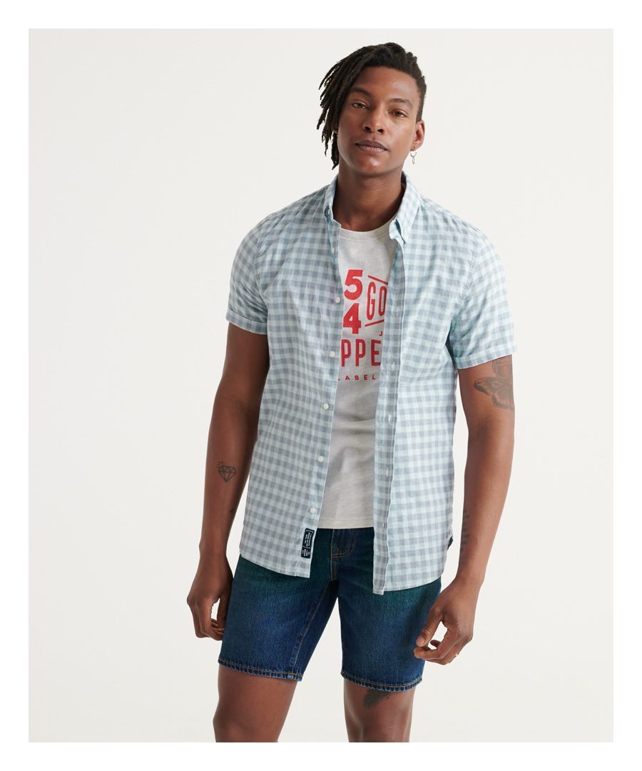 Image for Superdry Classic Dobby Short Sleeved Shirt