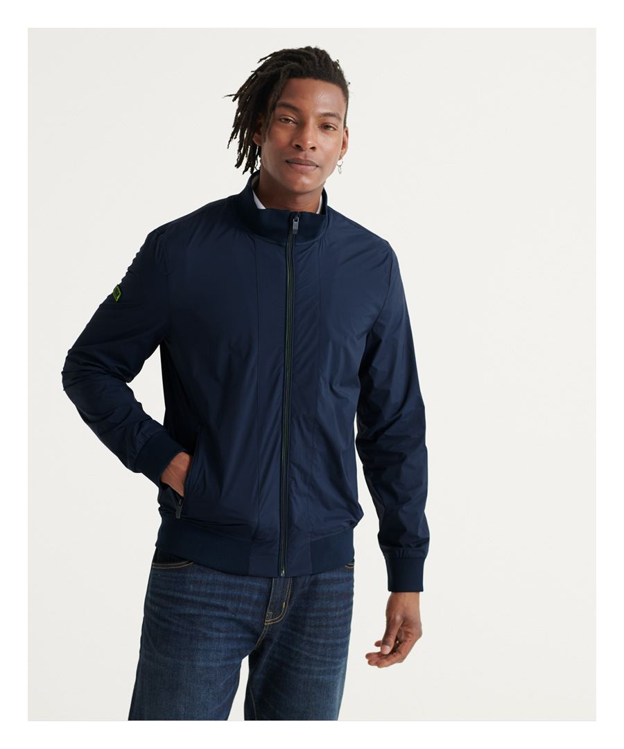 Image for Superdry Flyweight Harrington Jacket
