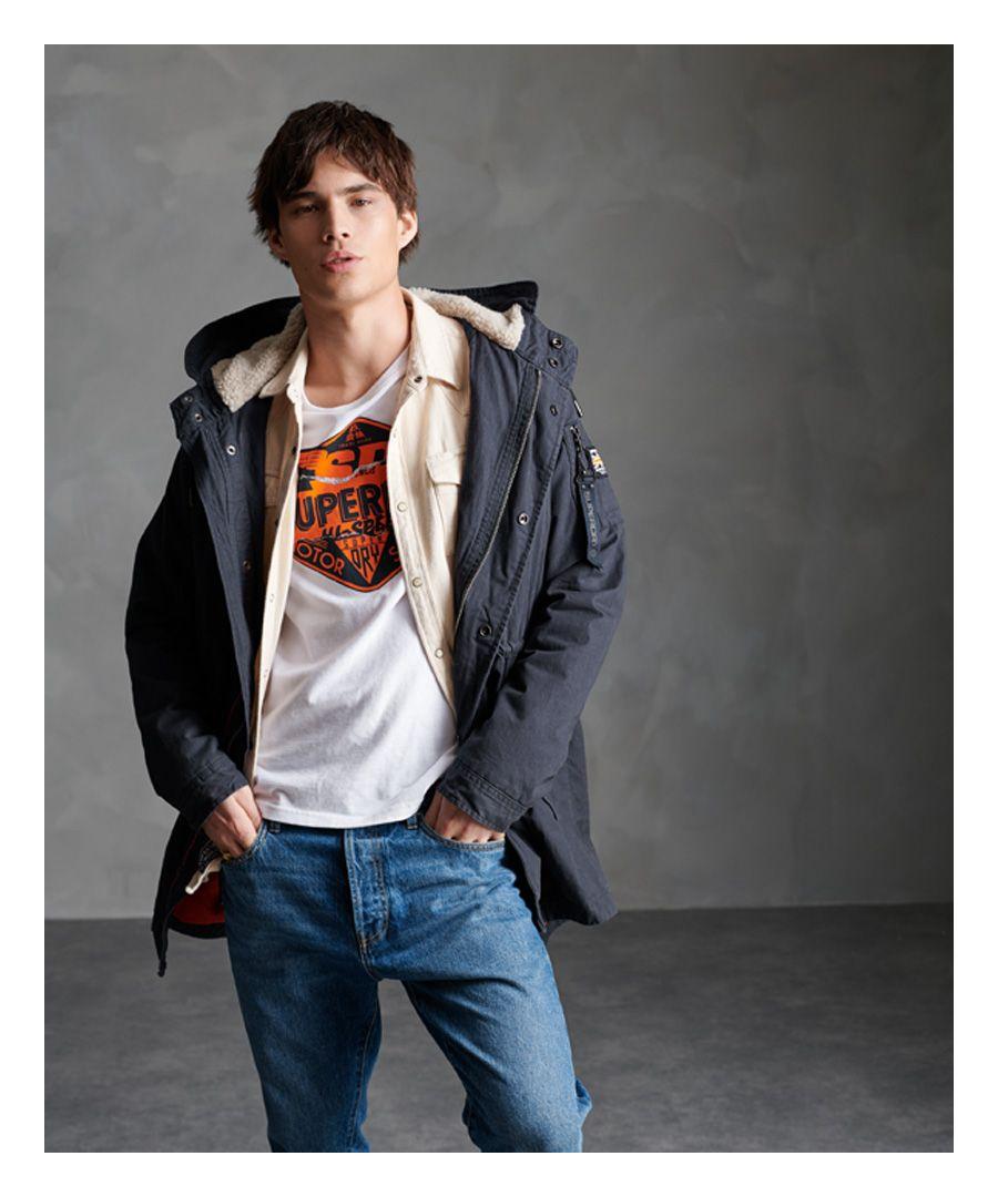 Image for Superdry Winter Aviator Parka Jacket