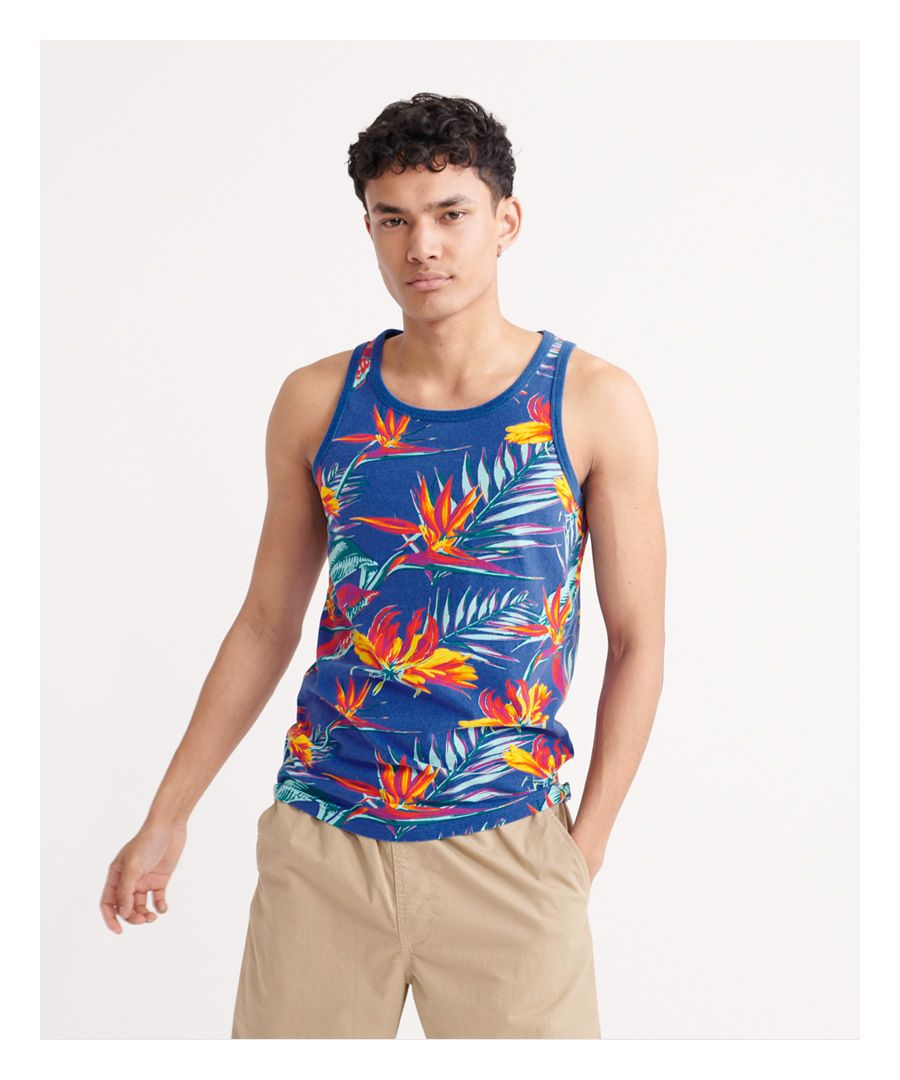 Image for Superdry All Over Print Supply Vest Top