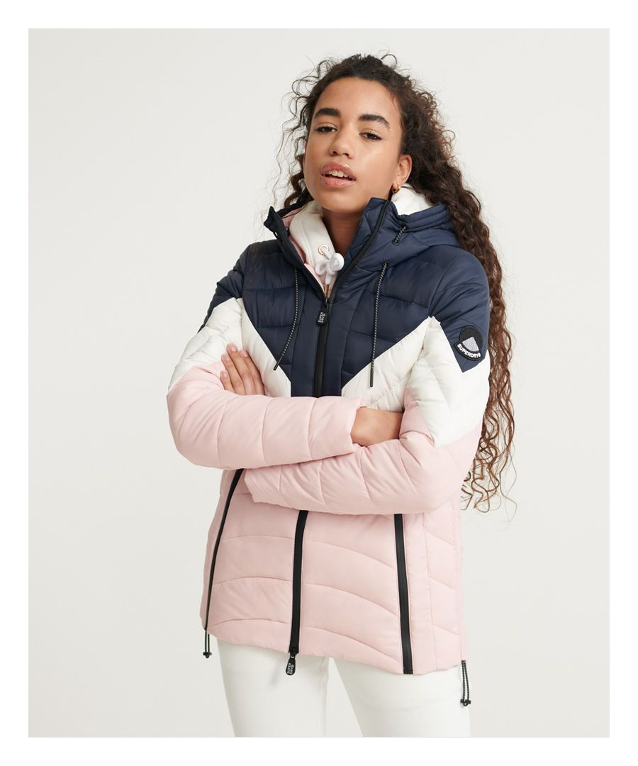 Image for Superdry Colour Block Eclipse Jacket