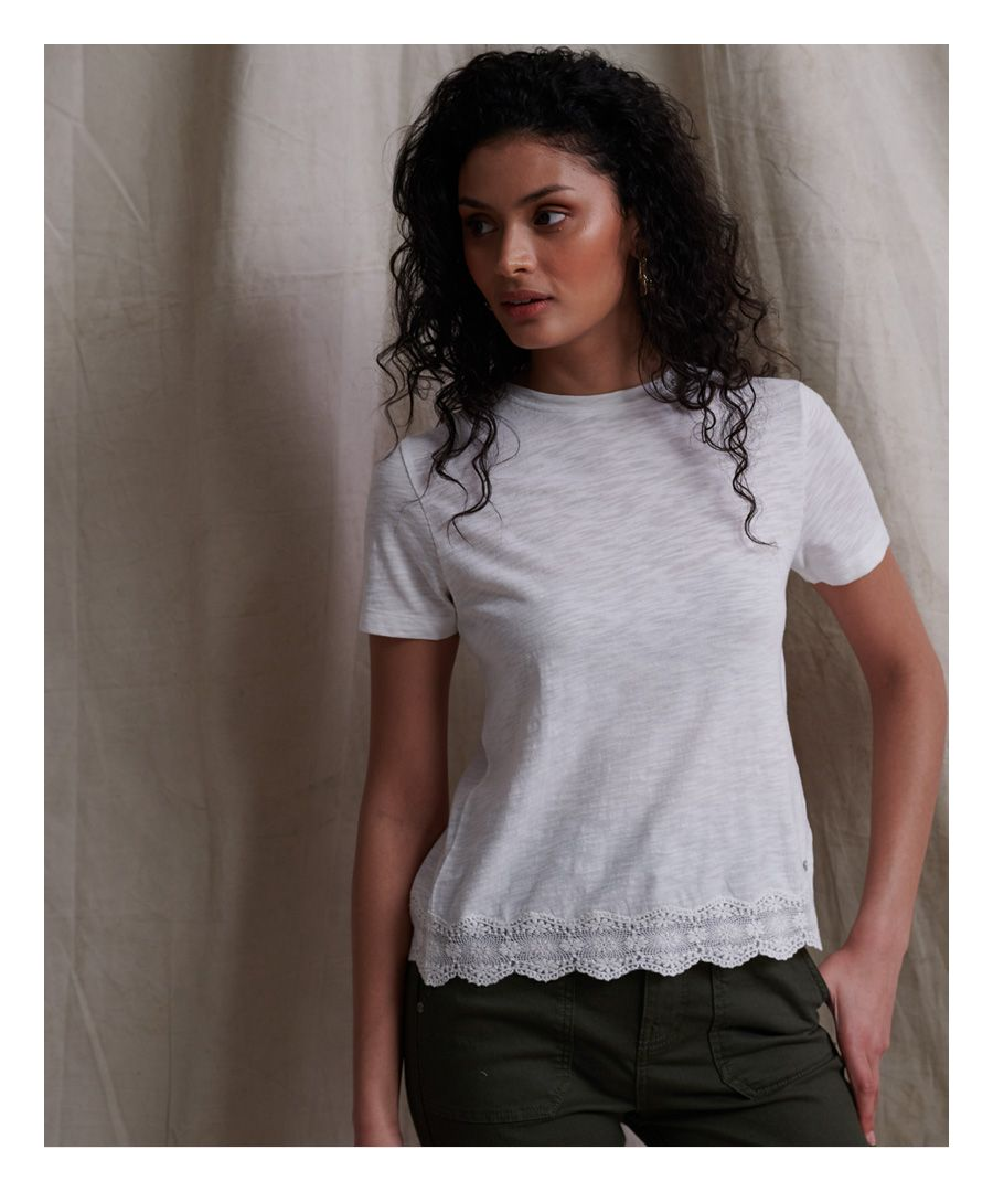 Image for Superdry Lace Mix T-Shirt