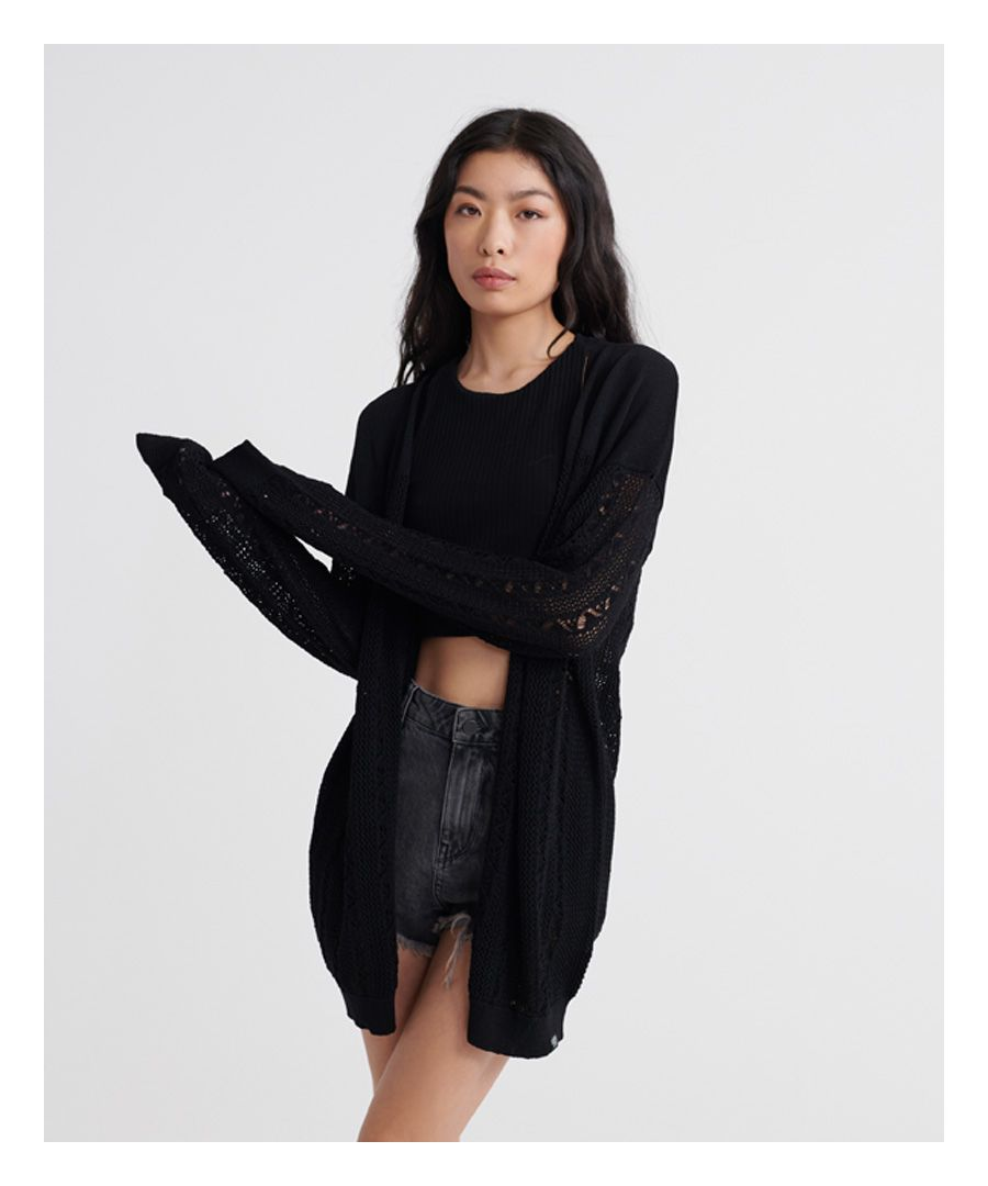 Image for Superdry Bella Pointelle Cardigan