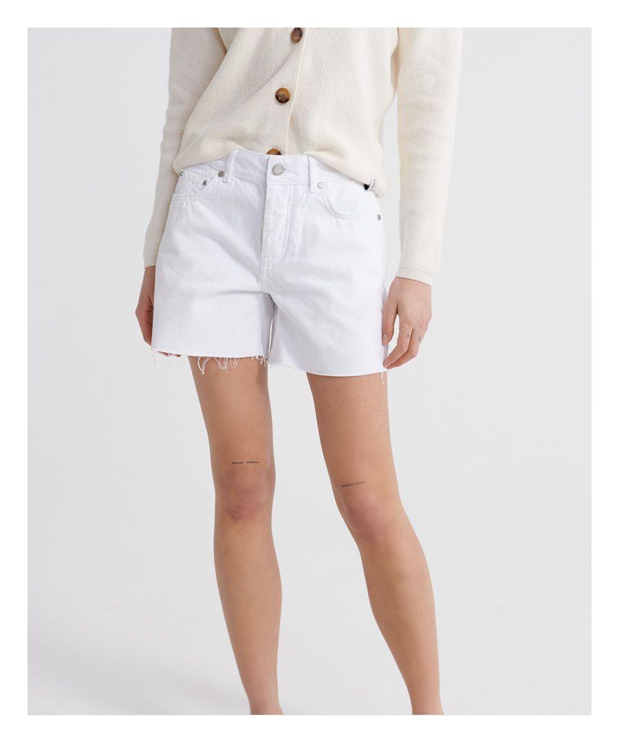 Image for Superdry Denim Mid Length Shorts