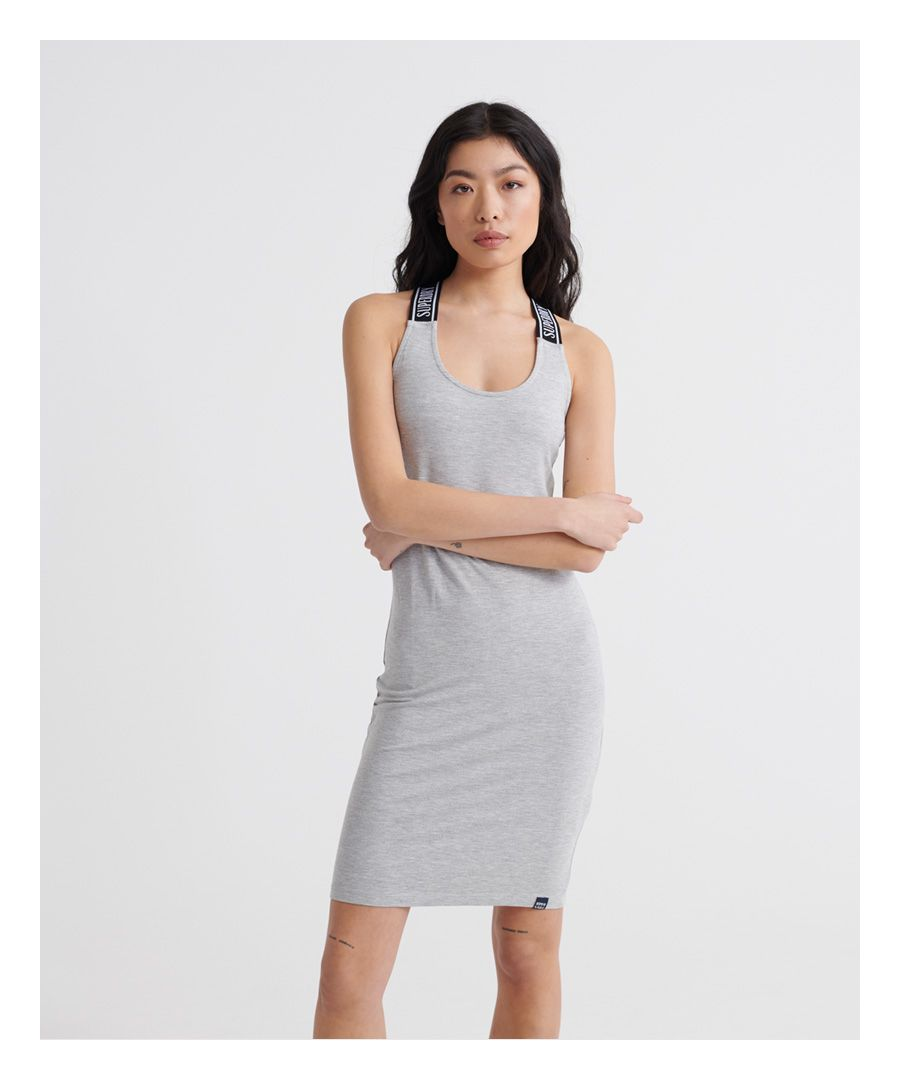 Image for Superdry City Jacquard Bodycon Dress