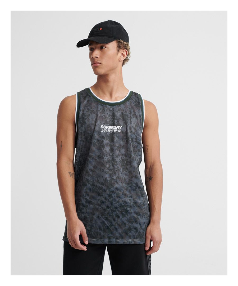 Image for Superdry Camo Air Vest Top