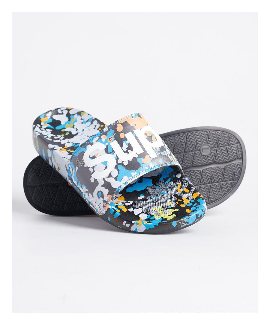 Image for Superdry Printed Beach Sliders