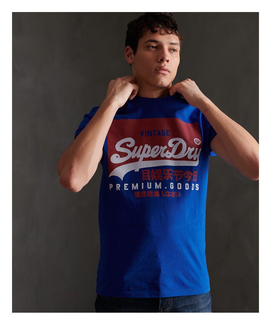 Image for Superdry Organic Cotton Vintage Logo T-Shirt