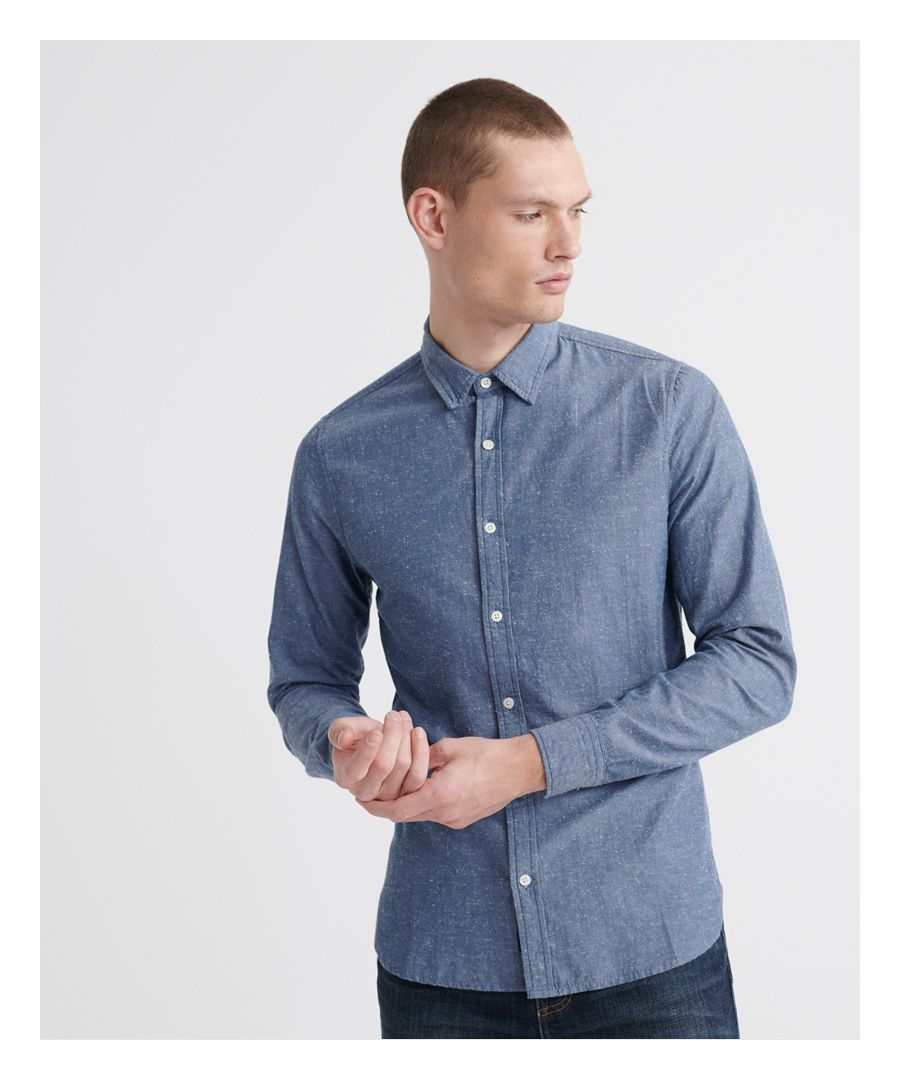 Image for Superdry Loom Long Sleeved Shirt