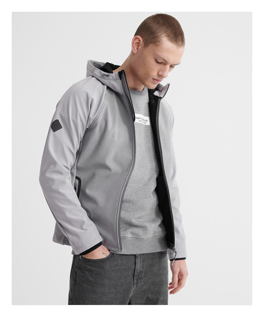 Image for Superdry Hooded Softshell Jacket