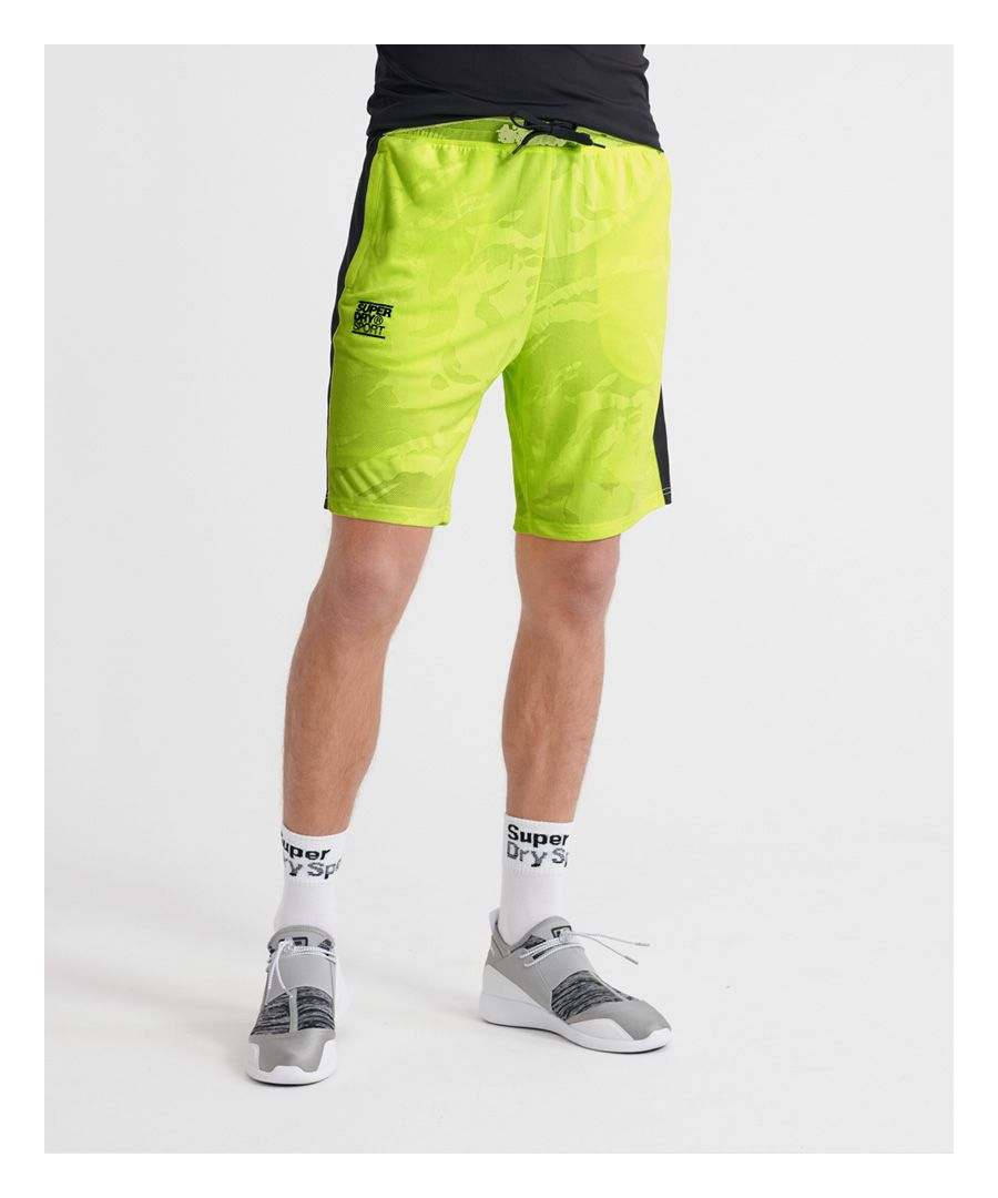 Image for Superdry Training Breathable Camo Shorts