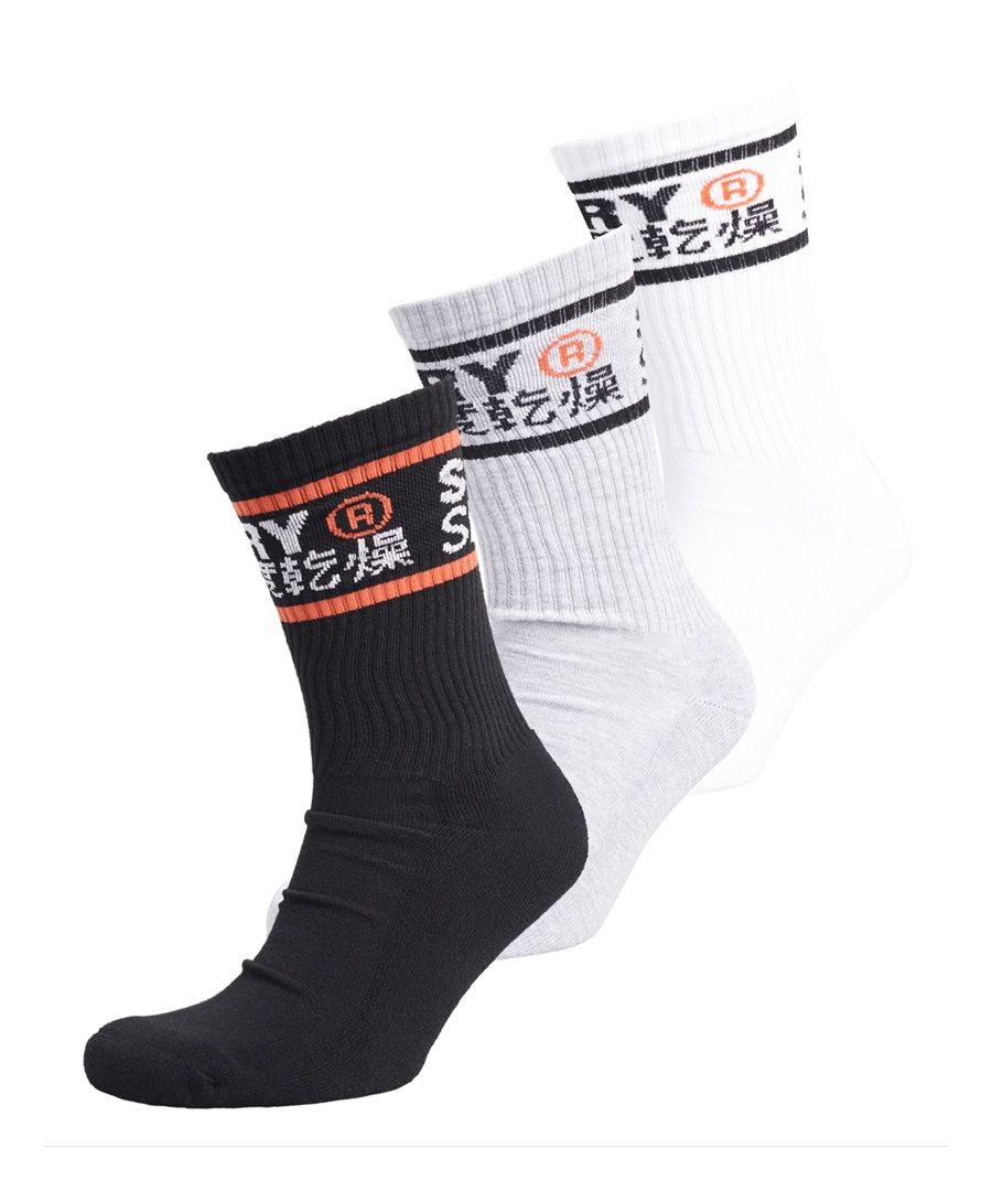 Image for Sport Cool Max Crew Sock 3 Pack