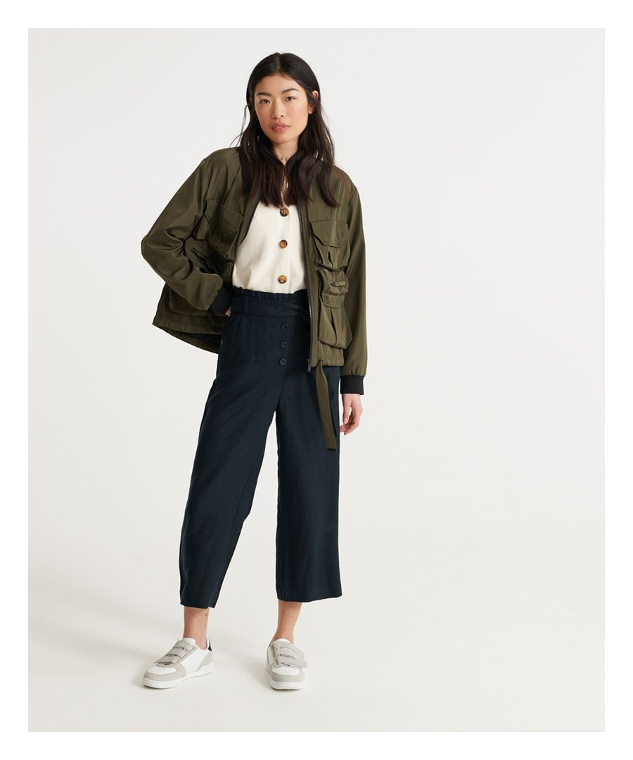 Image for Superdry Edit Linen Trousers