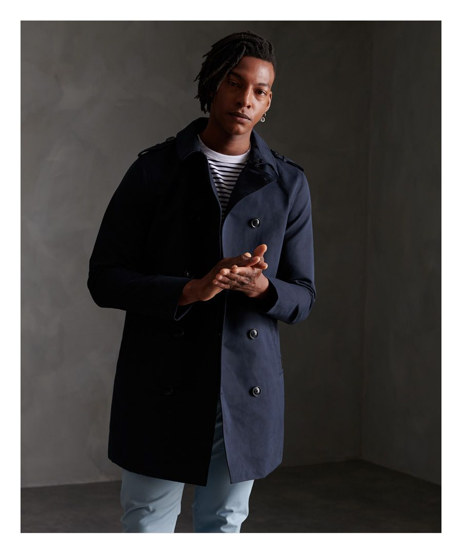 Image for Superdry Edit Rogue Trench Coat