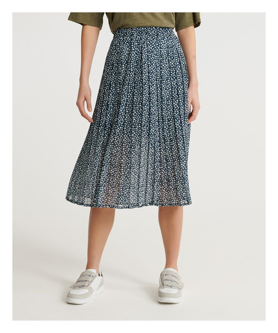 Image for Superdry Summer Pleated Skirt