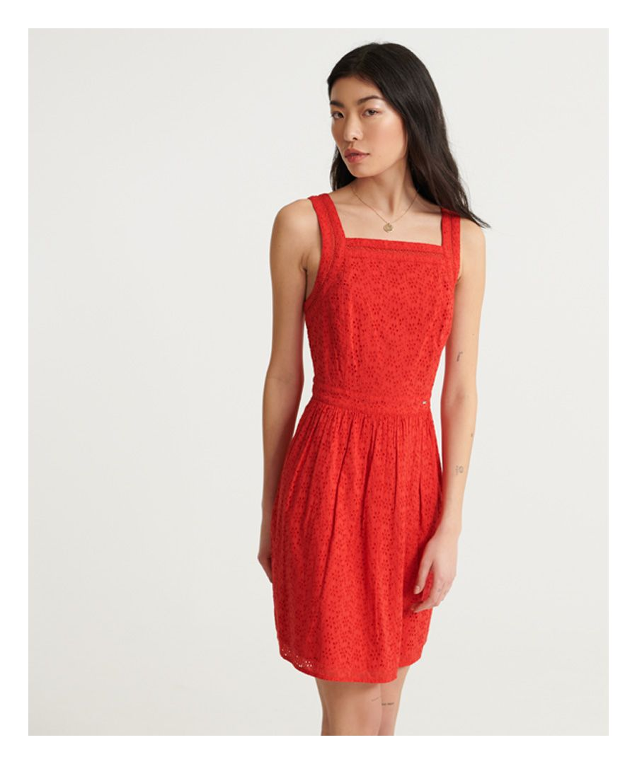 Image for Superdry Blaire Broderie Dress