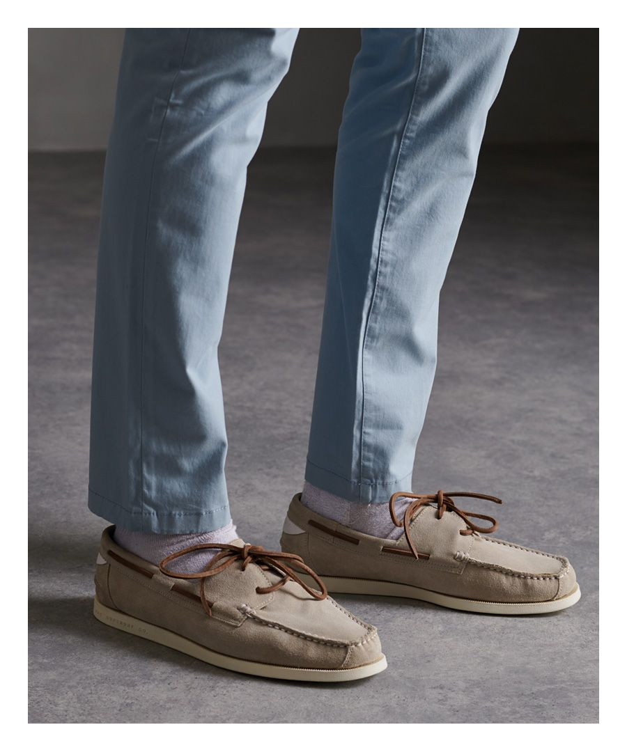 Image for Superdry Leather Deck Shoes