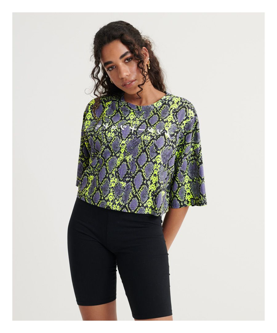 Image for Superdry City Oversized Crop T-Shirt