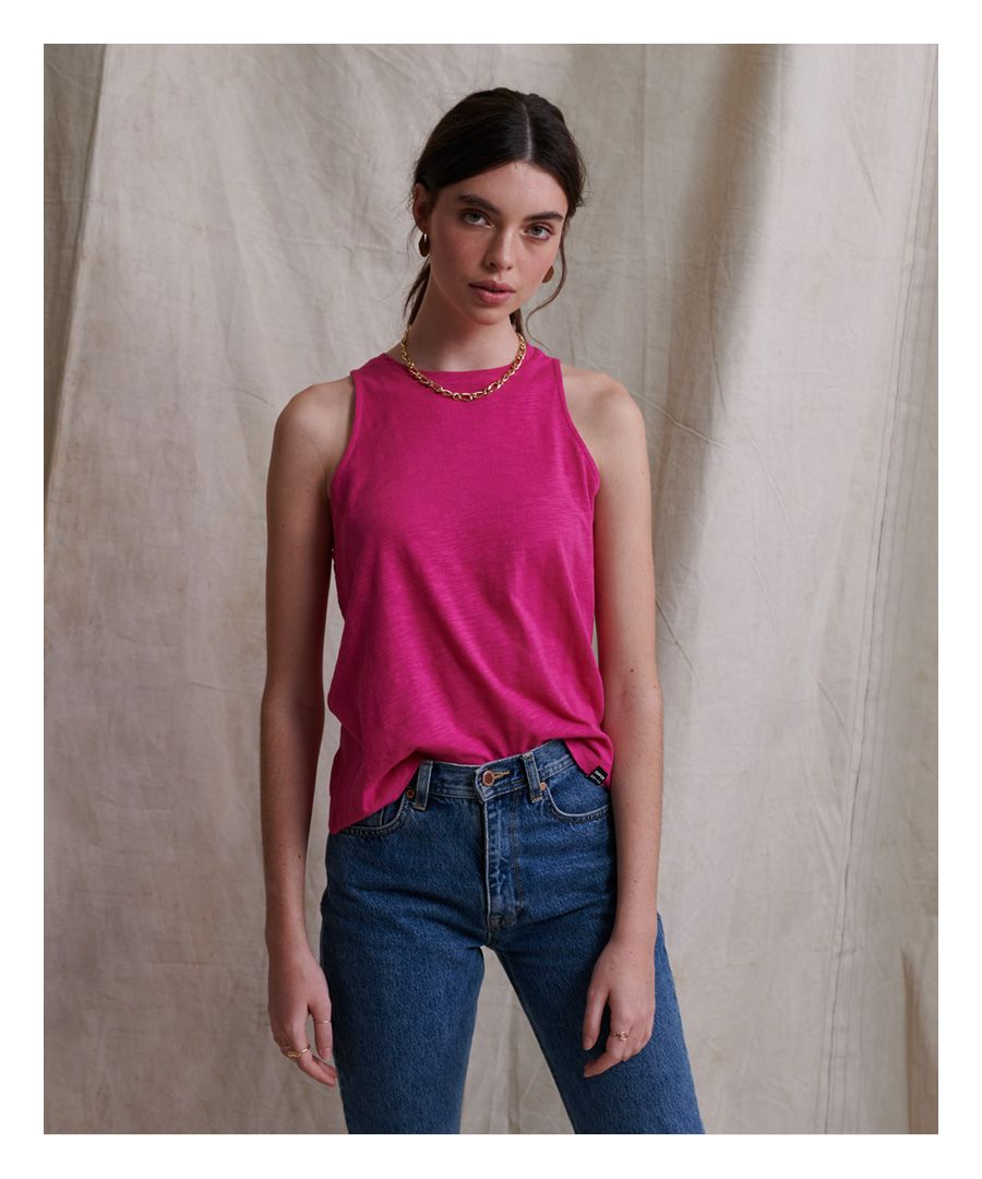 Image for Superdry Lily Crochet Insert Vest Top
