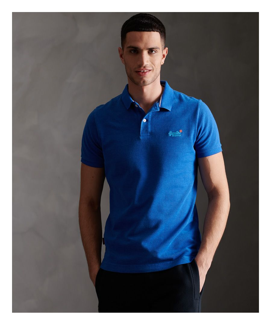 Image for Superdry Classic Pique Short Sleeve Polo Shirt