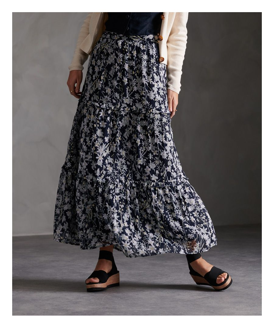 Image for Superdry Margaux Maxi Skirt