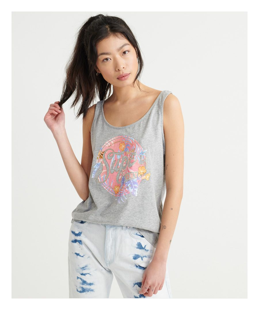 Image for Superdry Soda Tropical Classic Vest Top