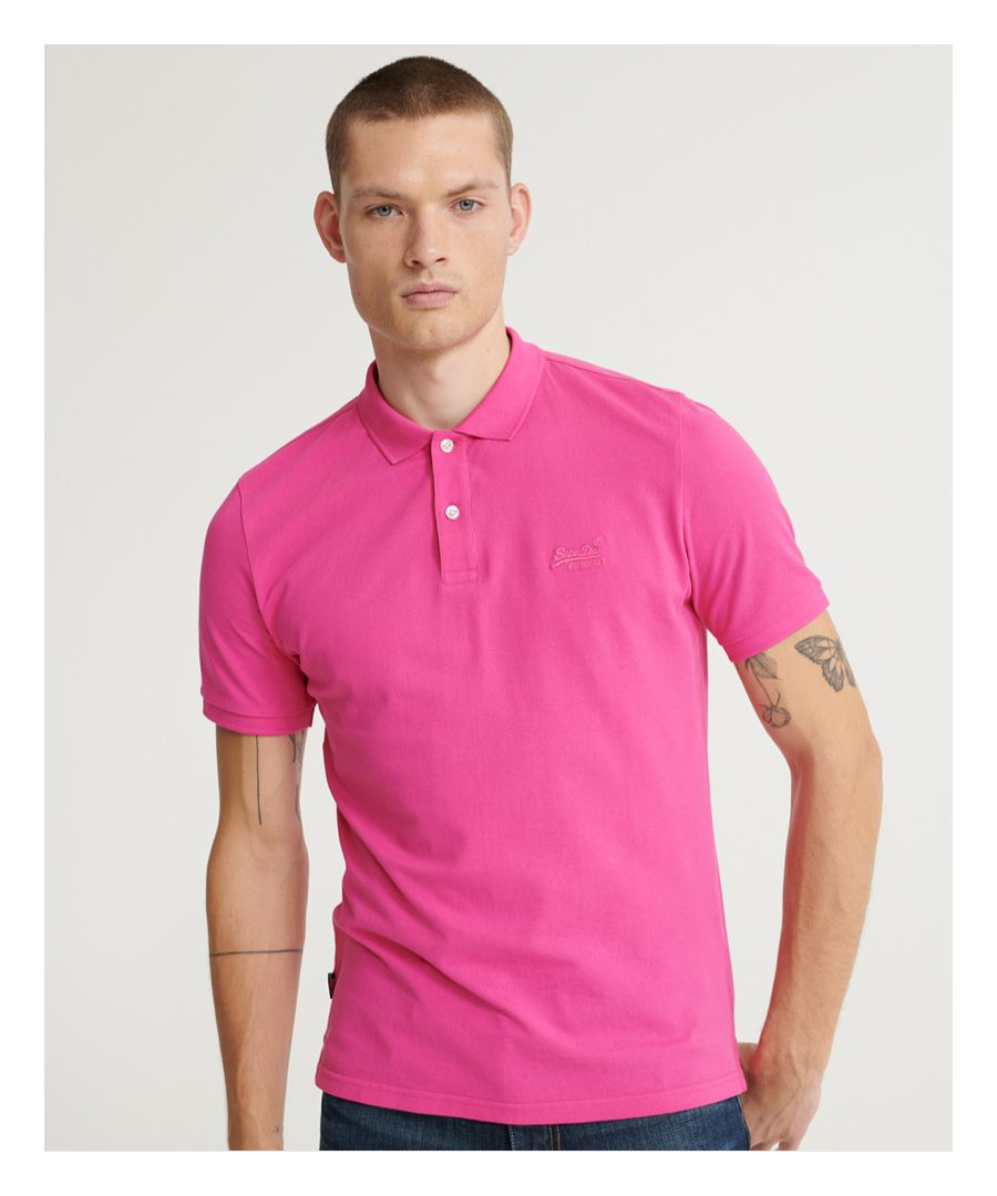 Image for Superdry Organic Cotton Micro Lite Pique Polo Shirt