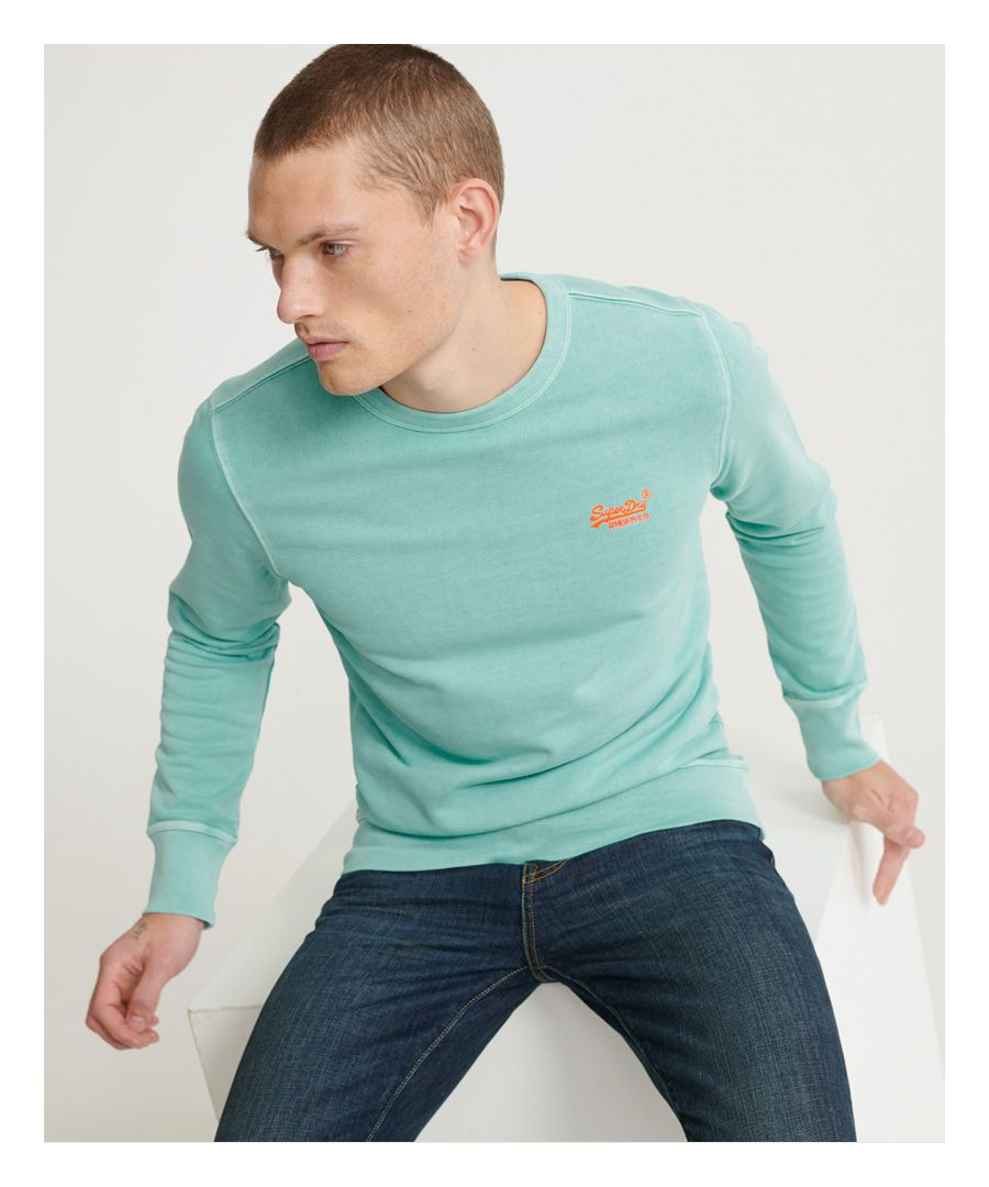 Image for Superdry Orange Label Pastelline Crew Sweatshirt