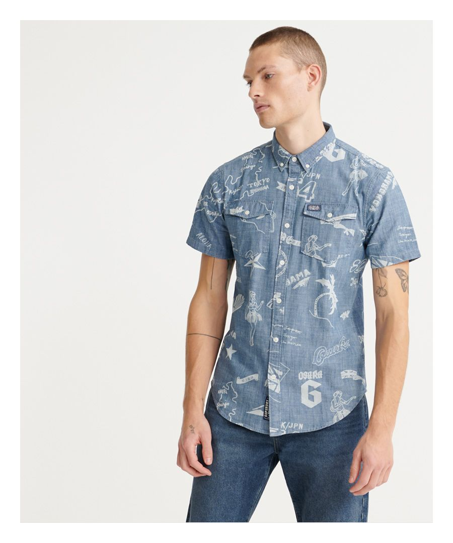 Image for Superdry Loom Worker Shirt