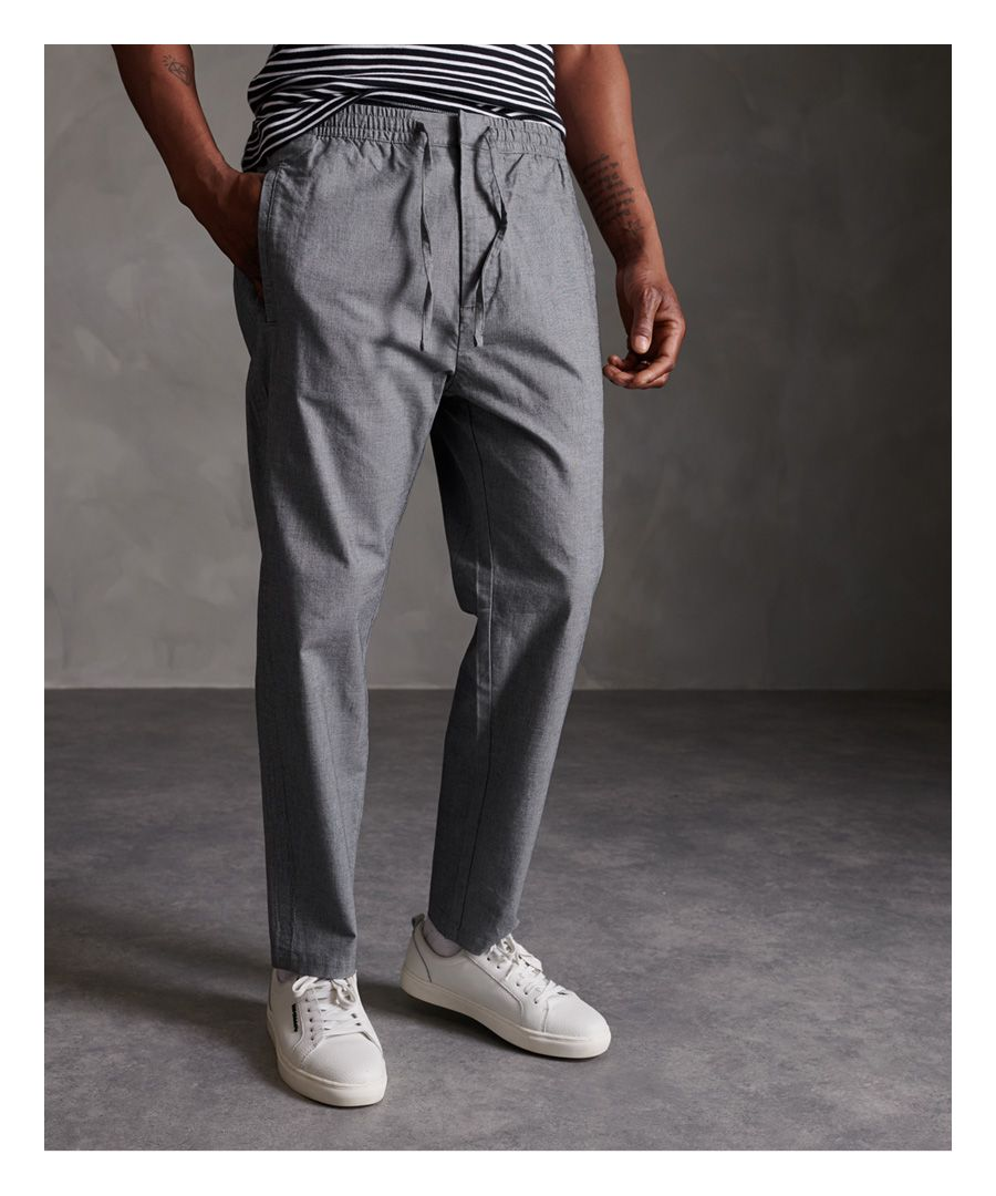 Image for Superdry Edit Taper Drawstring Trousers