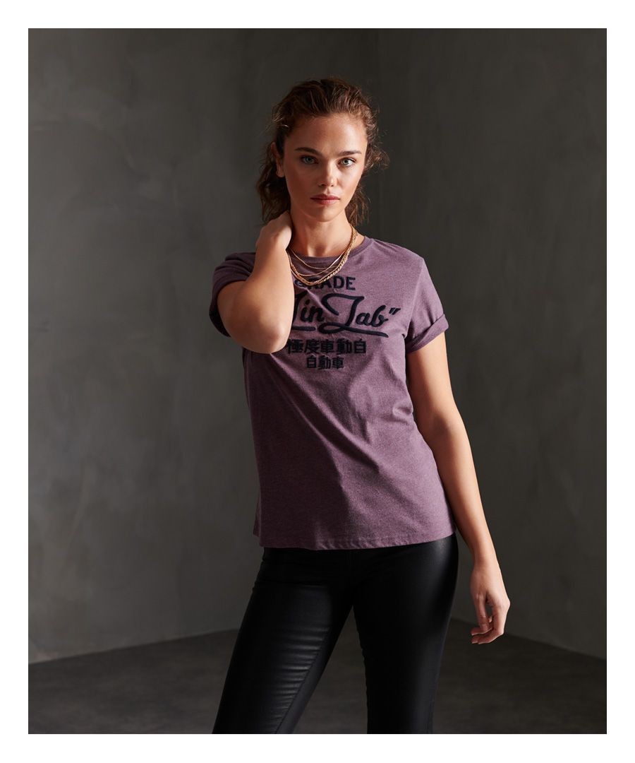 Image for Superdry Workwear Chainstitch Embroidered T-Shirt