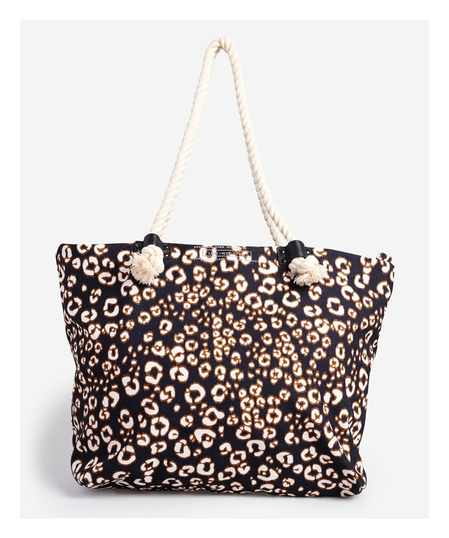 Image for Superdry Printed Rope Tote Bag