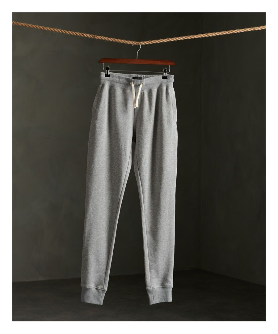 Image for Superdry Organic Cotton Standard Label Loopback Joggers