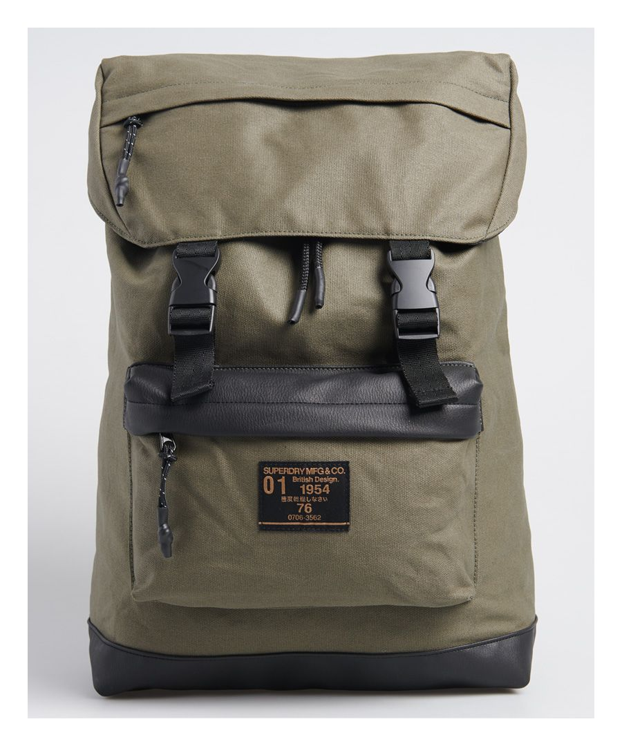 Image for Superdry Waxed Top Loaded Commuter Bag