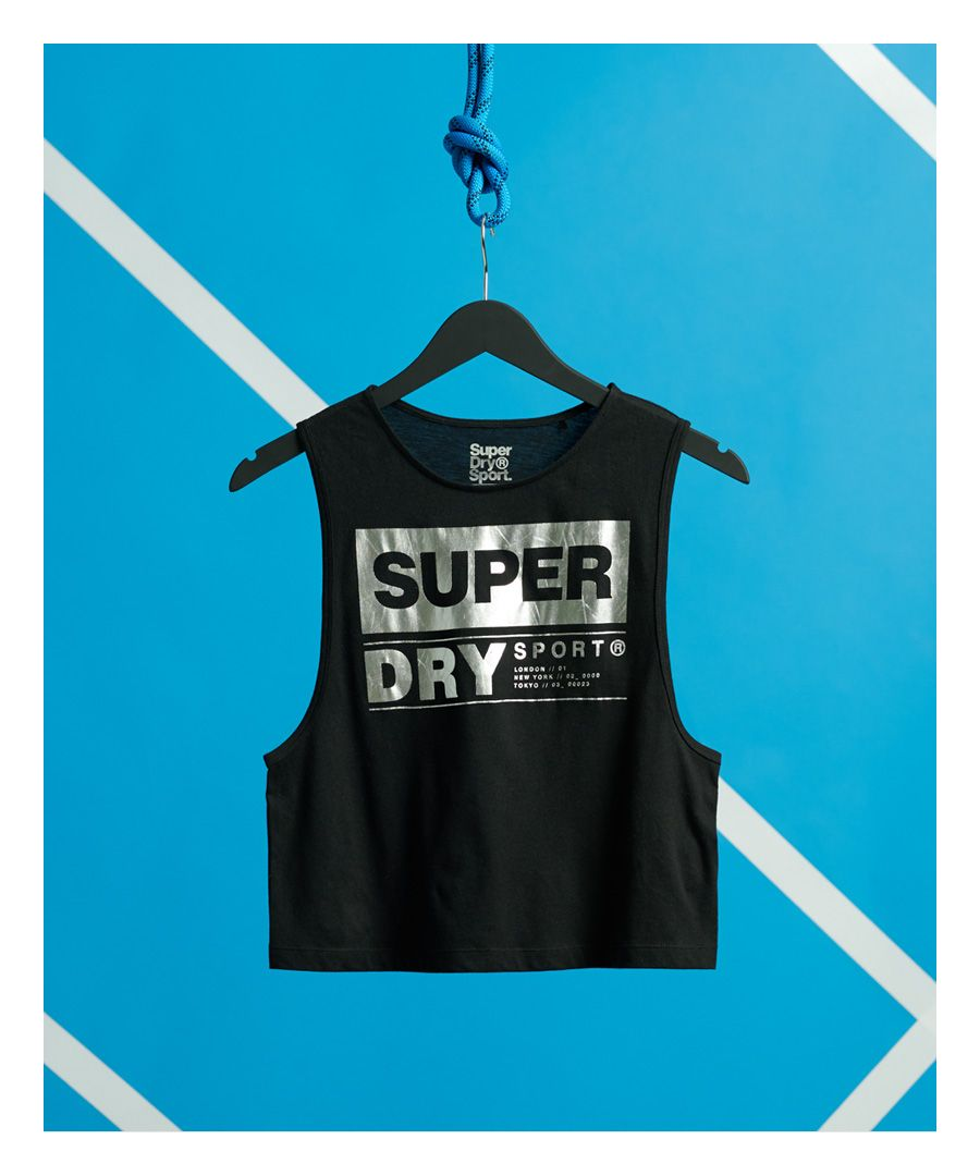 Image for Superdry Streetsport Crop Tank Top