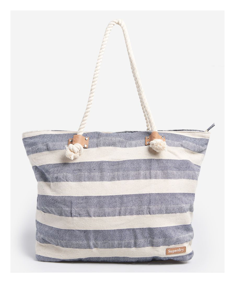 Image for Superdry Striped Rope Tote Bag