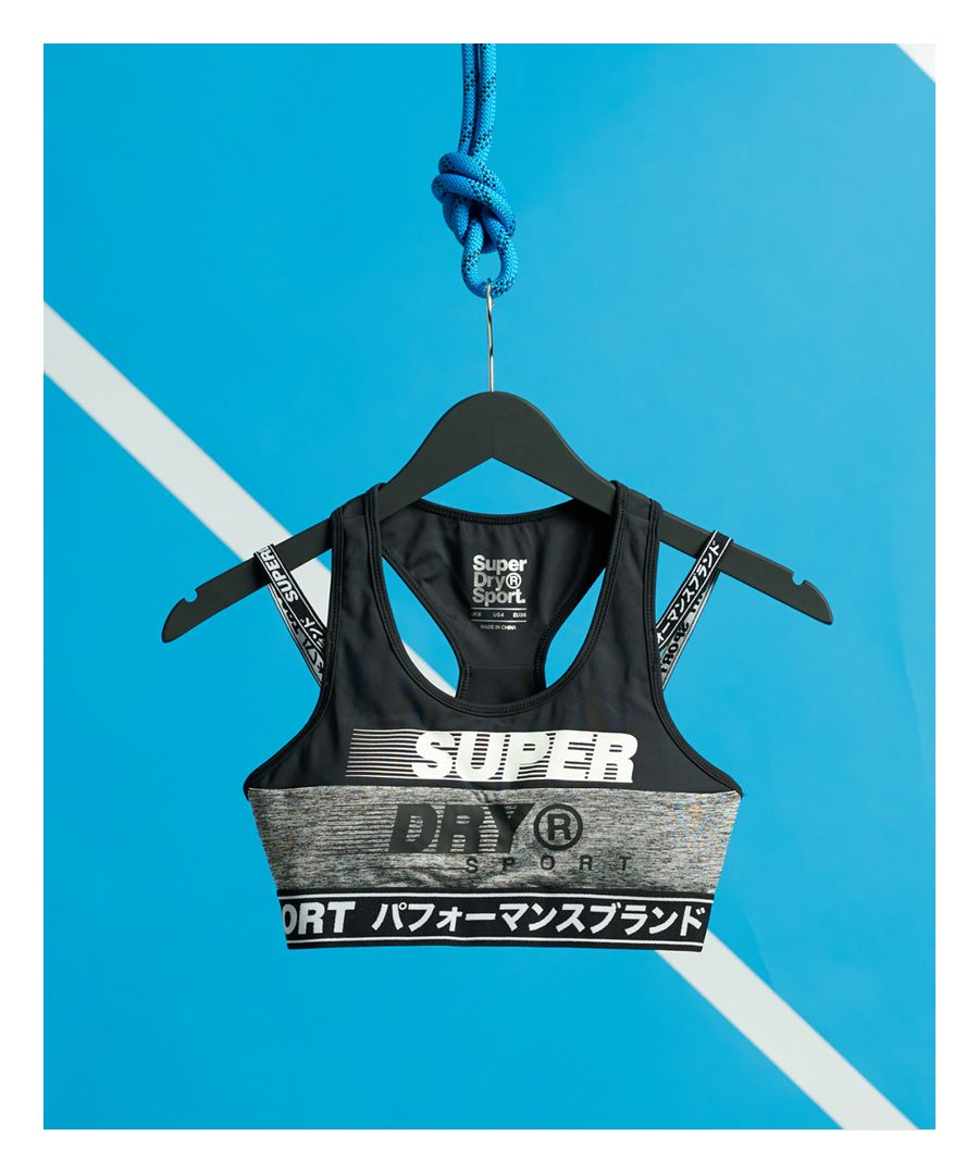 Image for Superdry Training Graphic Sports Bra