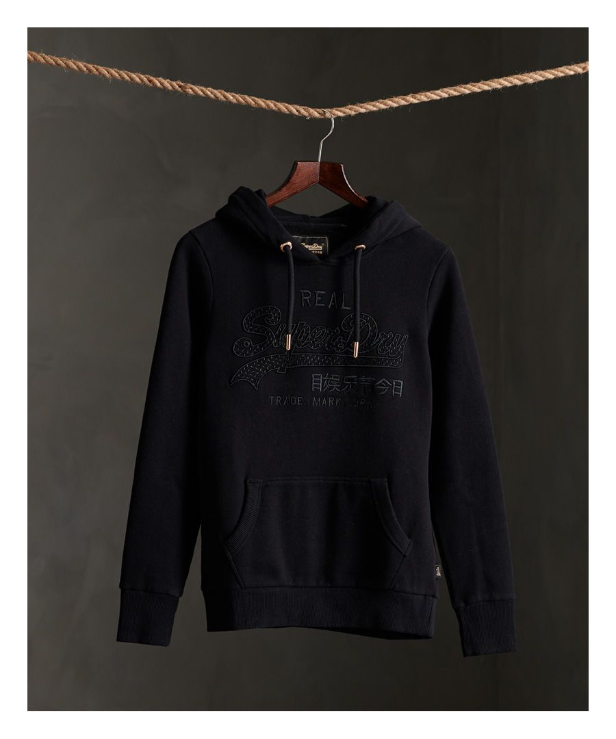 Image for Superdry Vintage Logo Embroidered Hoodie
