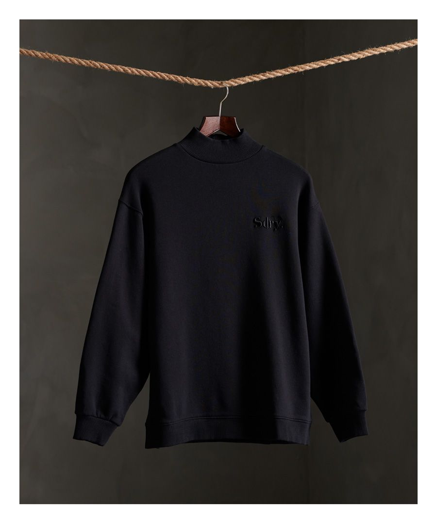 Image for Superdry Ana High Neck Crew Sweatshirt