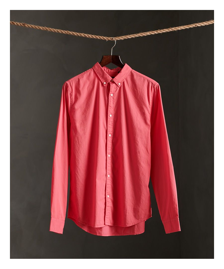 Image for Superdry Classic Twill Lite Long Sleeve Shirt