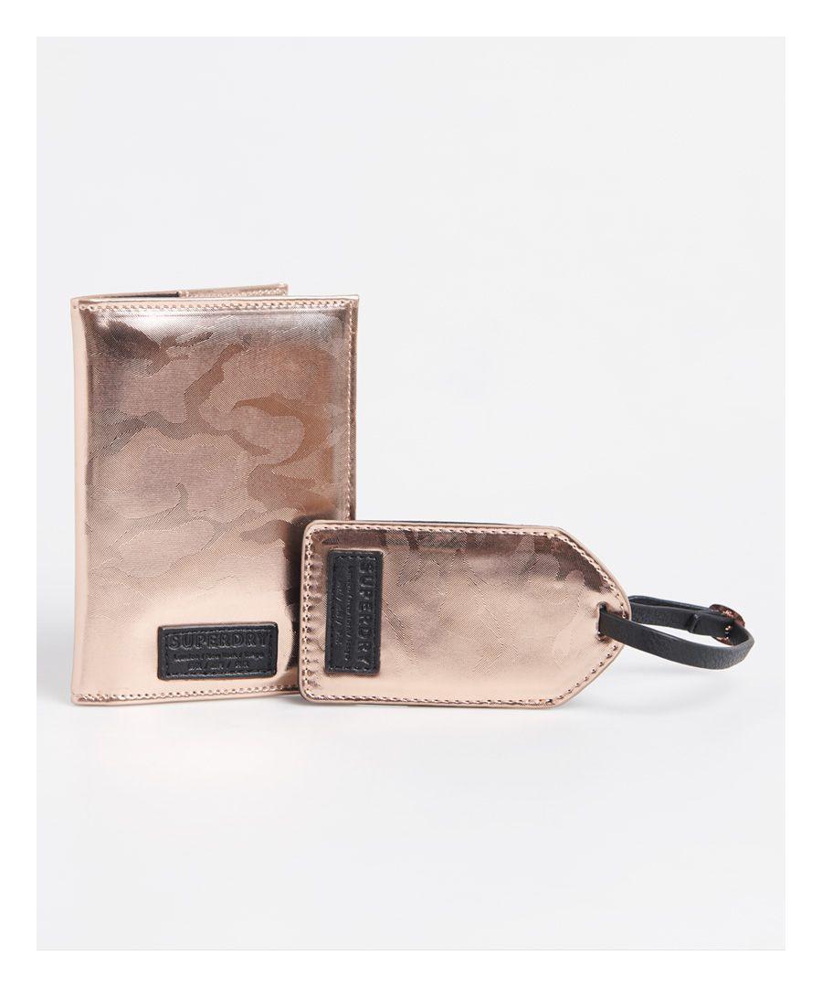 Image for Superdry Passport Holder & Luggage Label