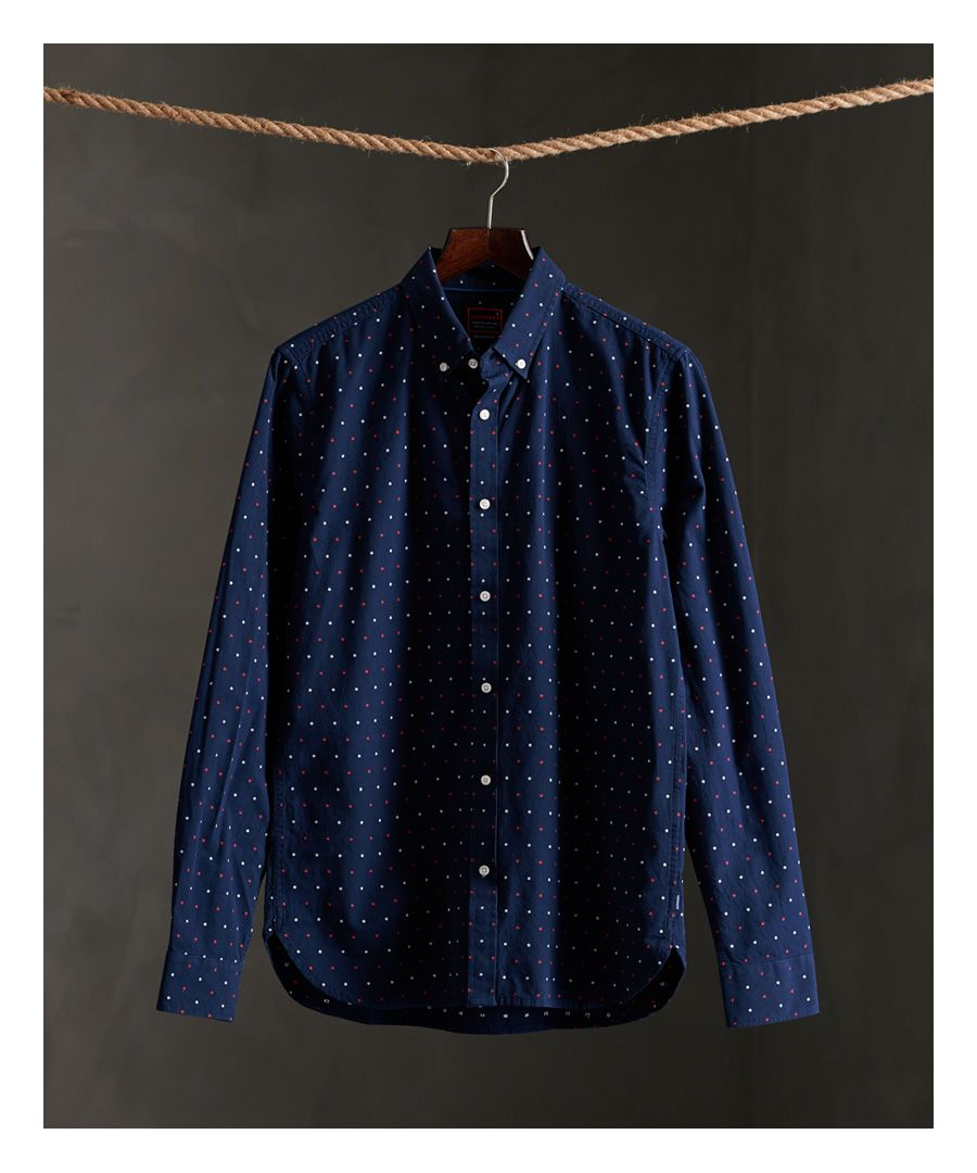Image for Superdry Long Sleeve Classic Dobby Shirt