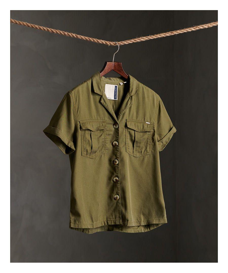 Image for Superdry Kaya Military Shirt