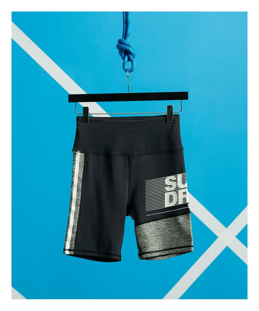 Image for Superdry Training Graphic Tight Shorts