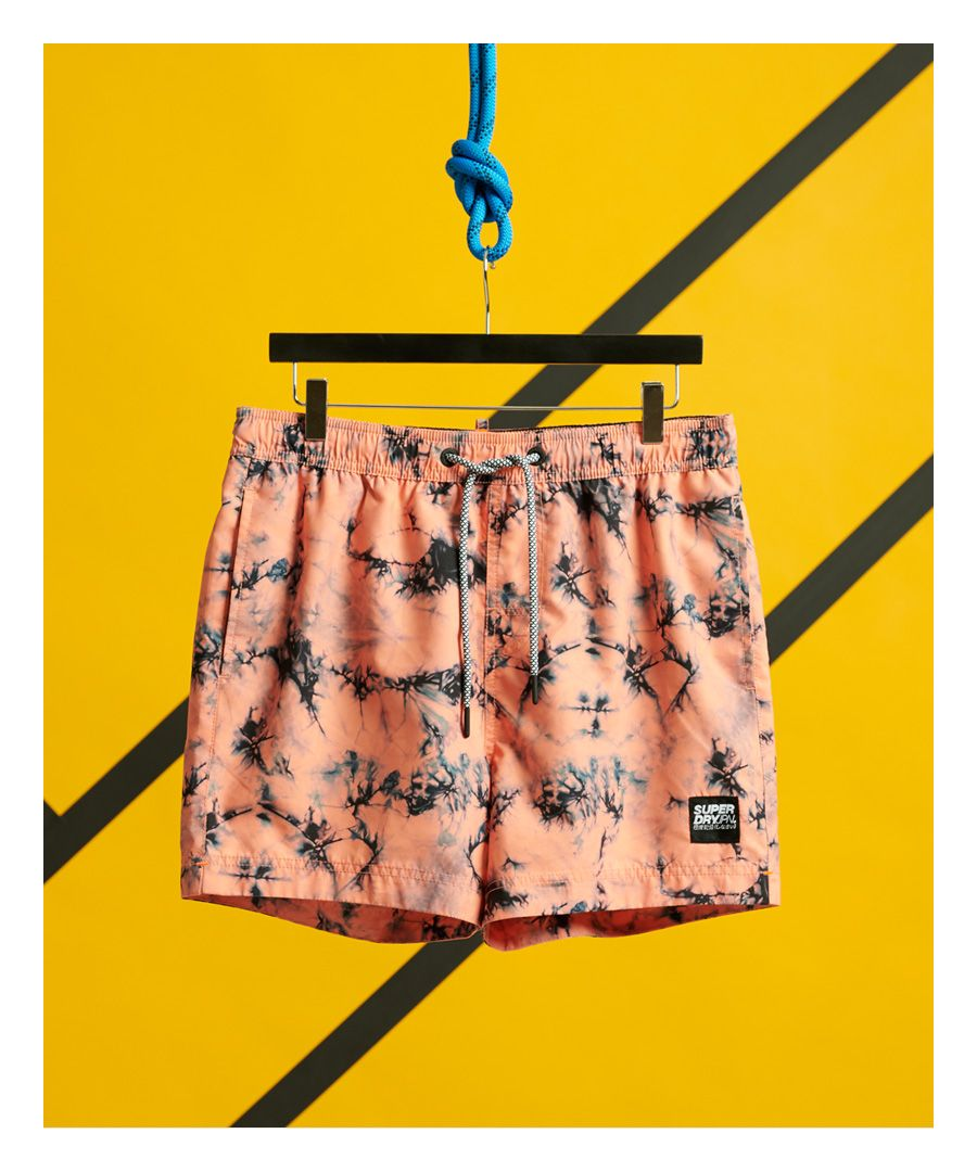 Image for Superdry Tie Dye Volley Swim Shorts