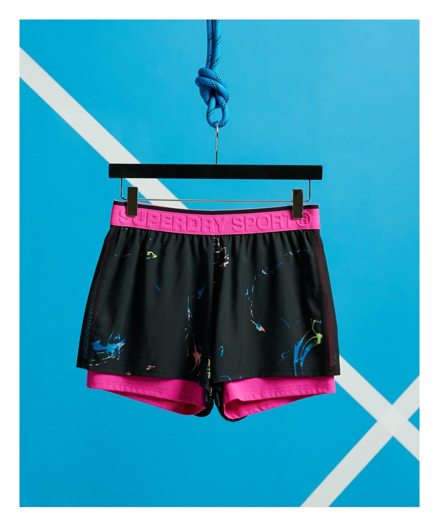 Image for Superdry Training Gym Double Layer Shorts