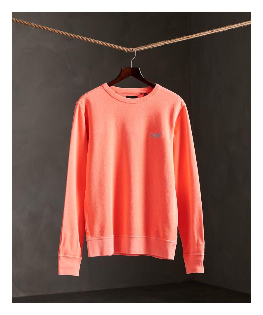 Image for Superdry Orange Label Pastelline Crew Sweatshirt
